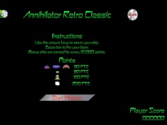Annihilator Retro Classic Games Free Download Full Version
