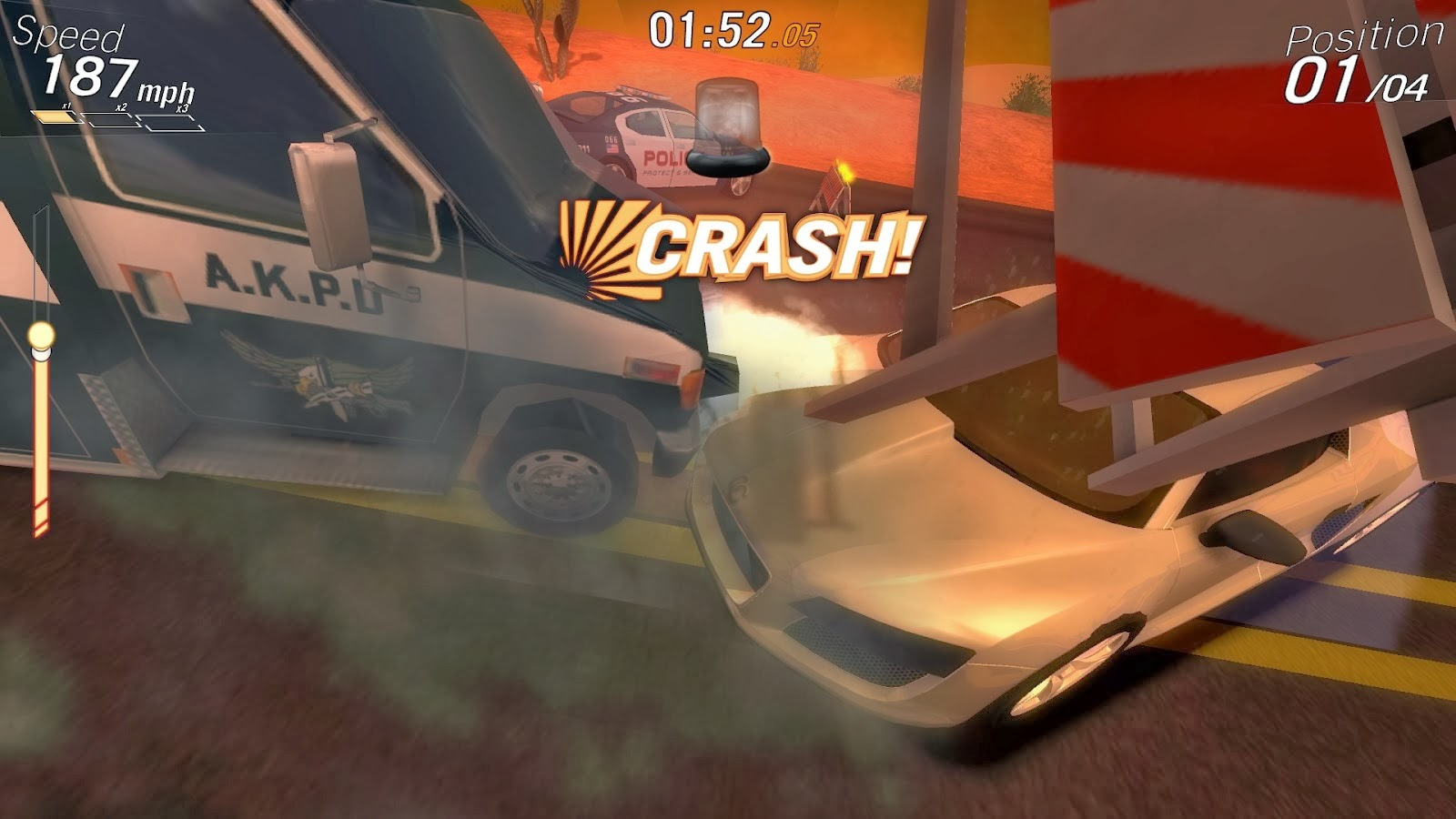 Free Download Crazy Cars Game For PC Full Version