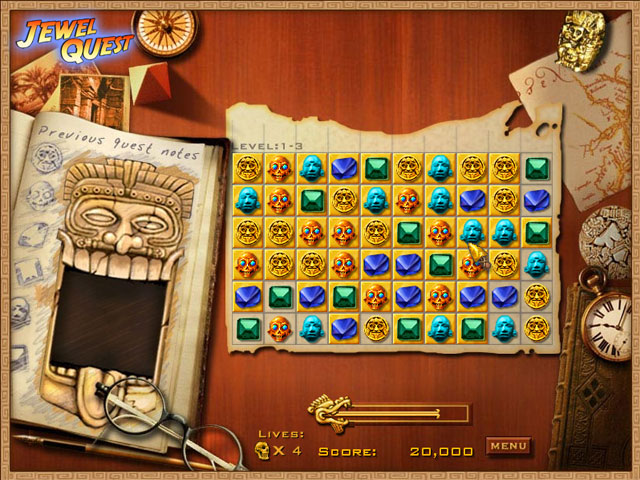 Jewel Quest PC Games Free Download For Windows 7/8/8.1/10/XP Full Version