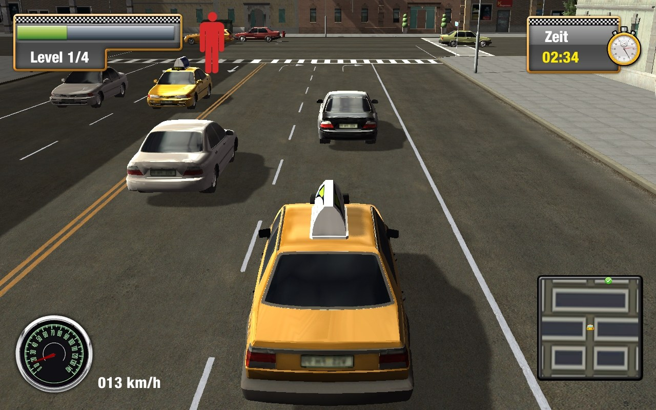 Free Download New York Taxi Simulator Game For PC Full Version