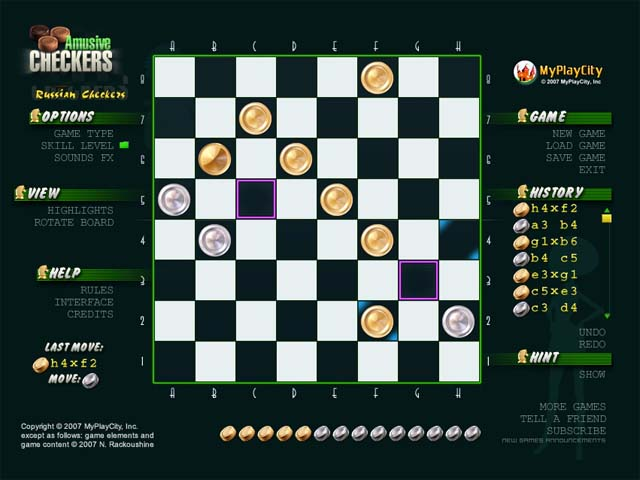 Free Download Amusive Checkers PC Games For Windows 7/8/8.1/10/XP Full Version