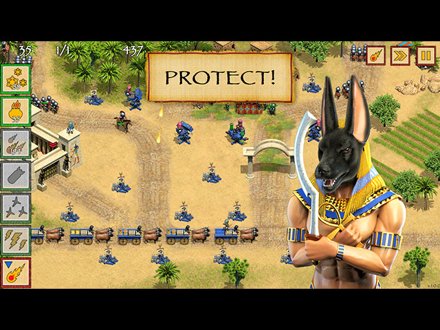 Free Download Defense of Egypt Cleoptara Mission PC Games For Windows 7/8/8.1/10/XP Full Version