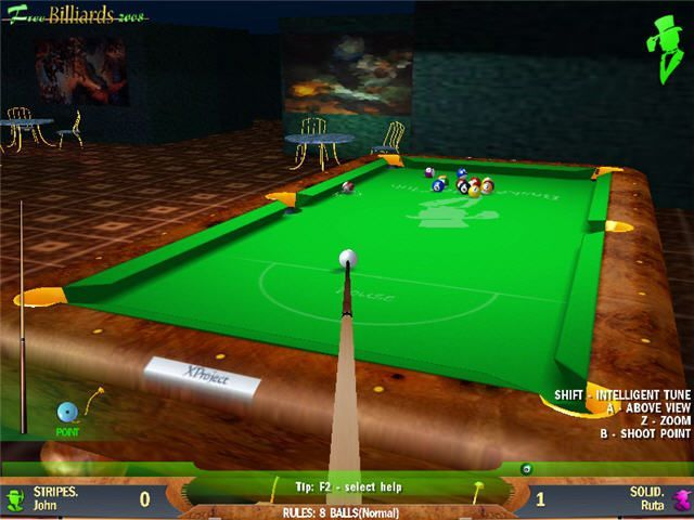 Free Billiards 2008 Free Download Games For PC Windows 7/8/8.1/10/XP Full Version