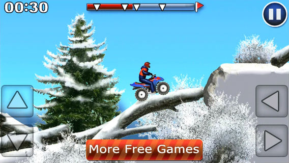 Free Download ATV Extreme Winter iOS Games Full Version