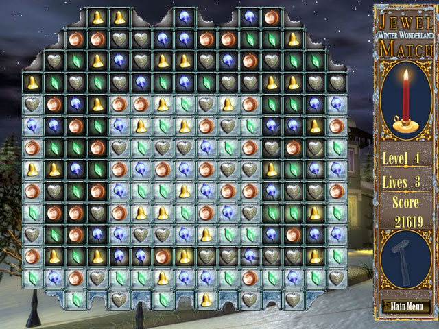 Free Download Jewel Match Winter Wonderland PC Games For Windows 7/8/8.1/10/XP Full Version