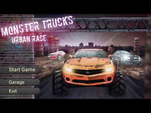 Free Download Monster Trucks Urban Race PC Games Full Version