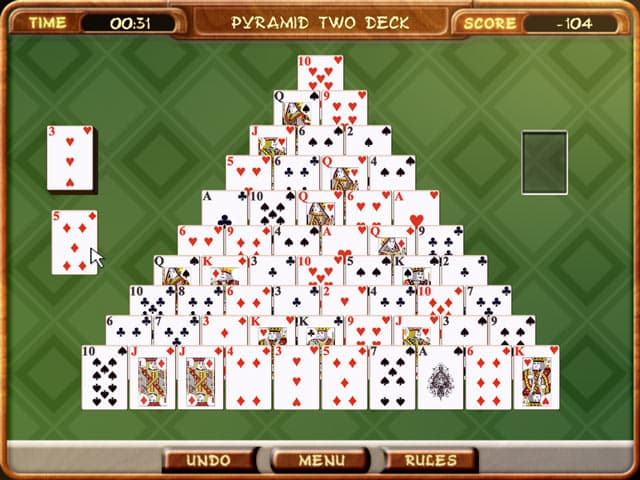 Free Download Pyramid Solitaire PC Games Full Version