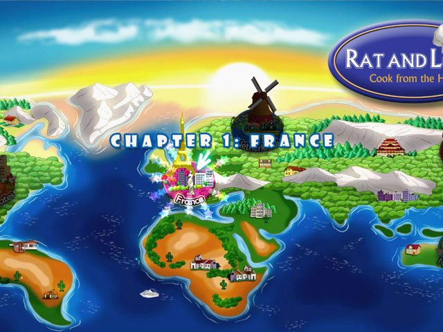 Rat and Louie Cook from the Heart PC Games Free Download For Windows 7/8/8.1/10/XP