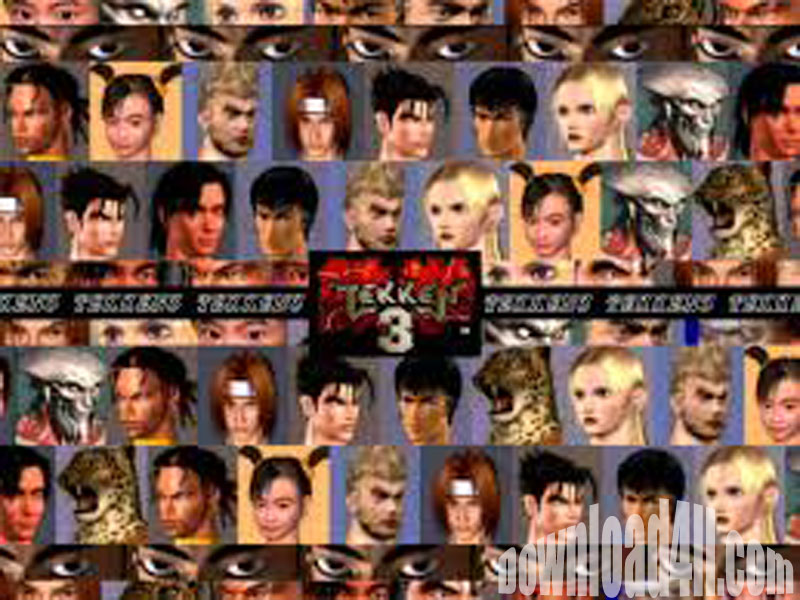 Free Download Tekken 3 PC Games Full Version